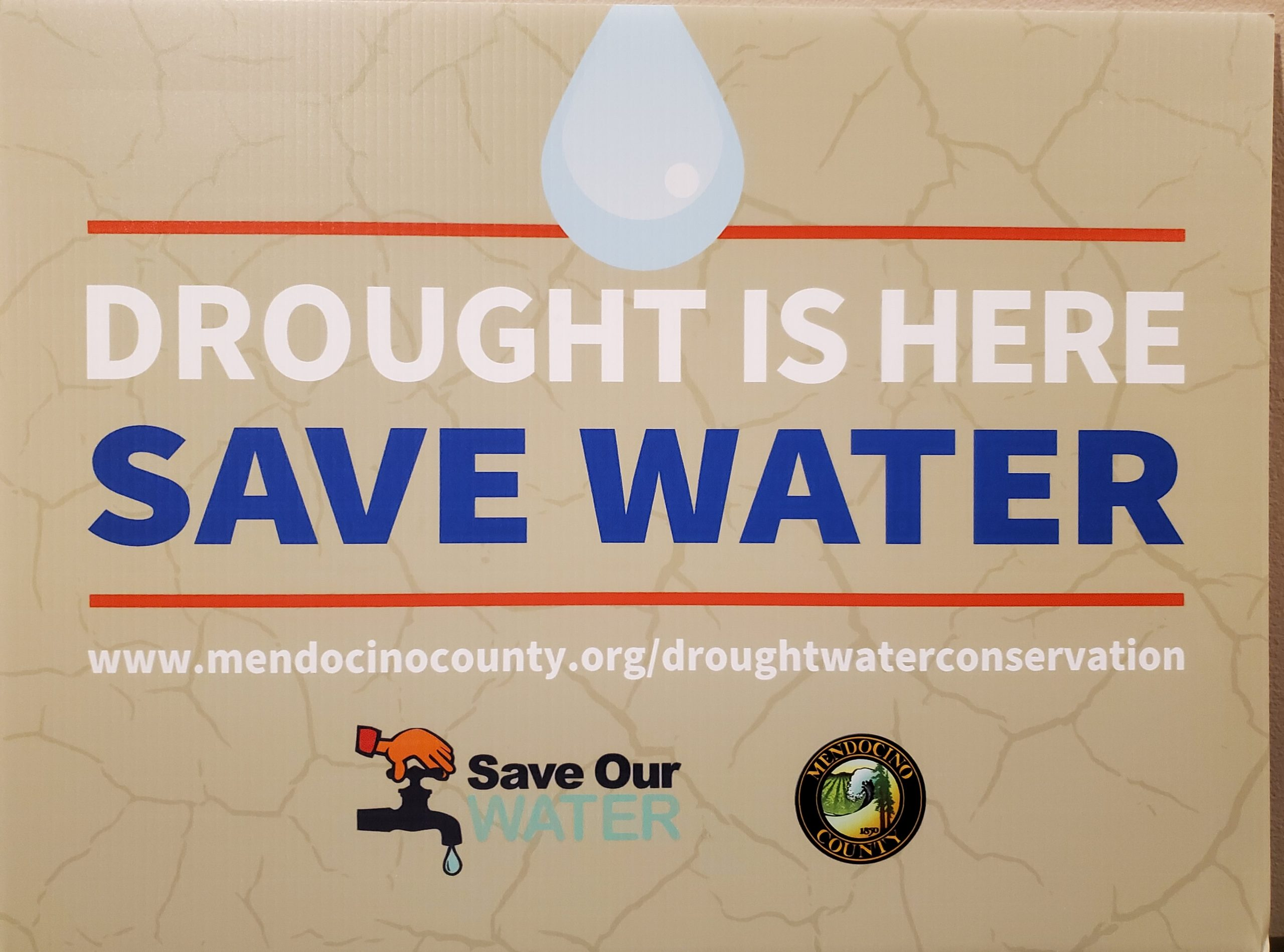 Drought is here sign